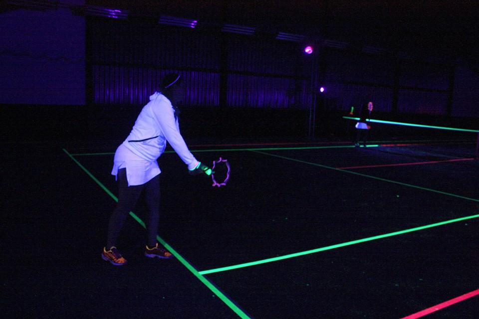 sport, blacklight,sport in blacklight